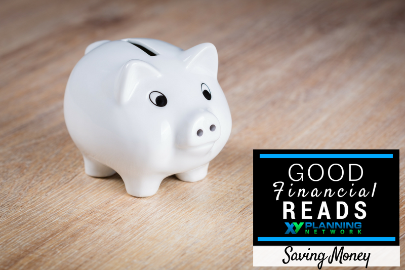 Good Financial Reads: Saving Money