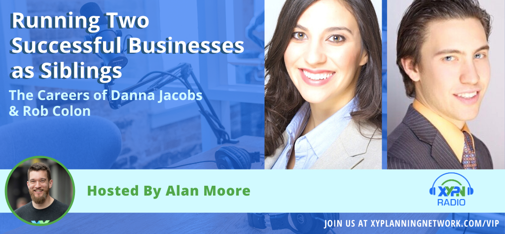 Ep #177: Running Two Successful Businesses As Siblings - The Careers of Danna Jacobs and Rob Colon