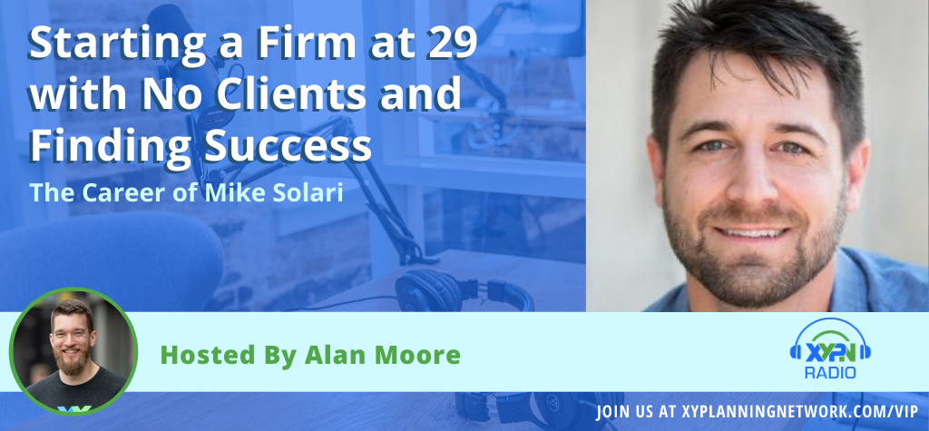 Ep #111: Starting a Firm at 29 with No Clients and Finding Success - The Career of Mike Solari