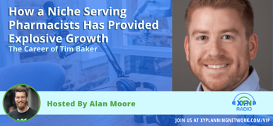 Ep #138: How a Niche Serving Pharmacists Has Provided Explosive Growth - The Career of Tim Baker