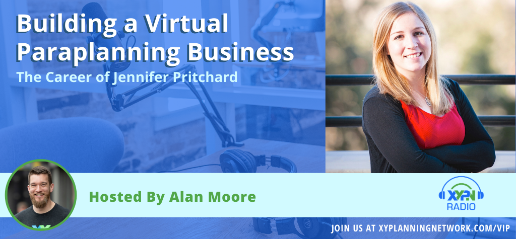 Ep #86: Building a Virtual Paraplanning Business - The Career of Jennifer Pritchard