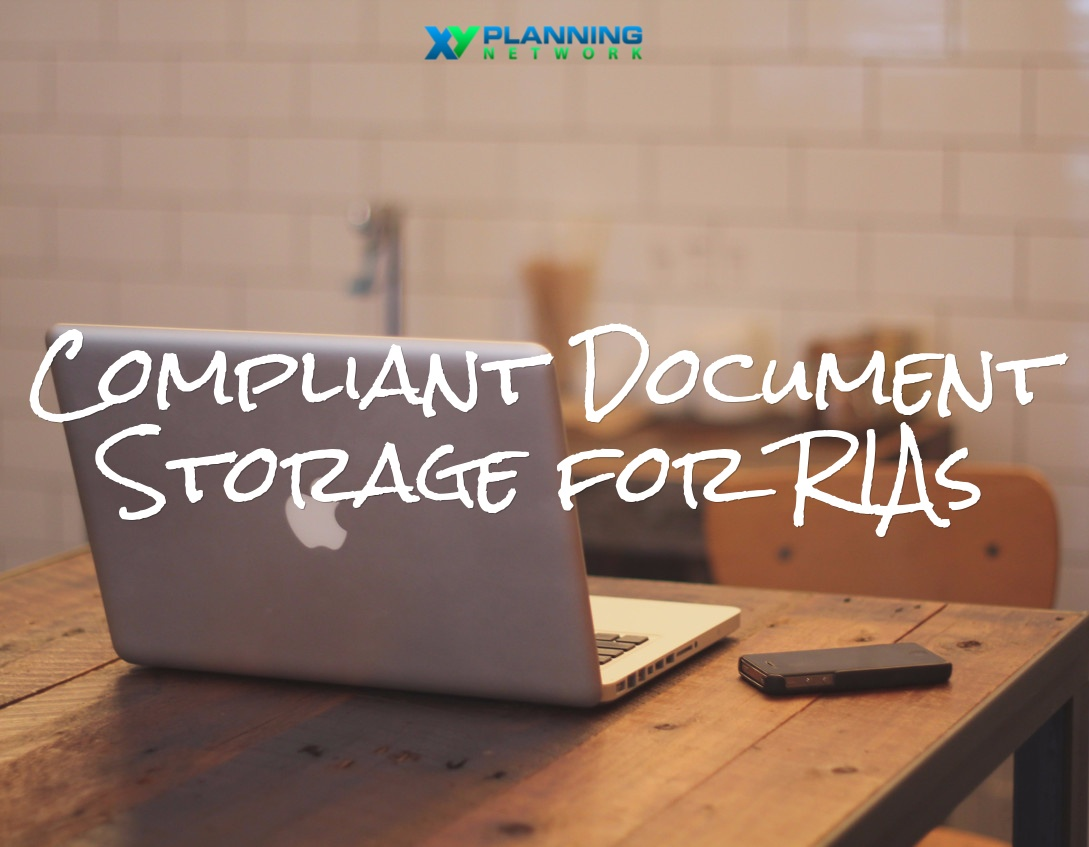 Compliant Document Storage for RIAs