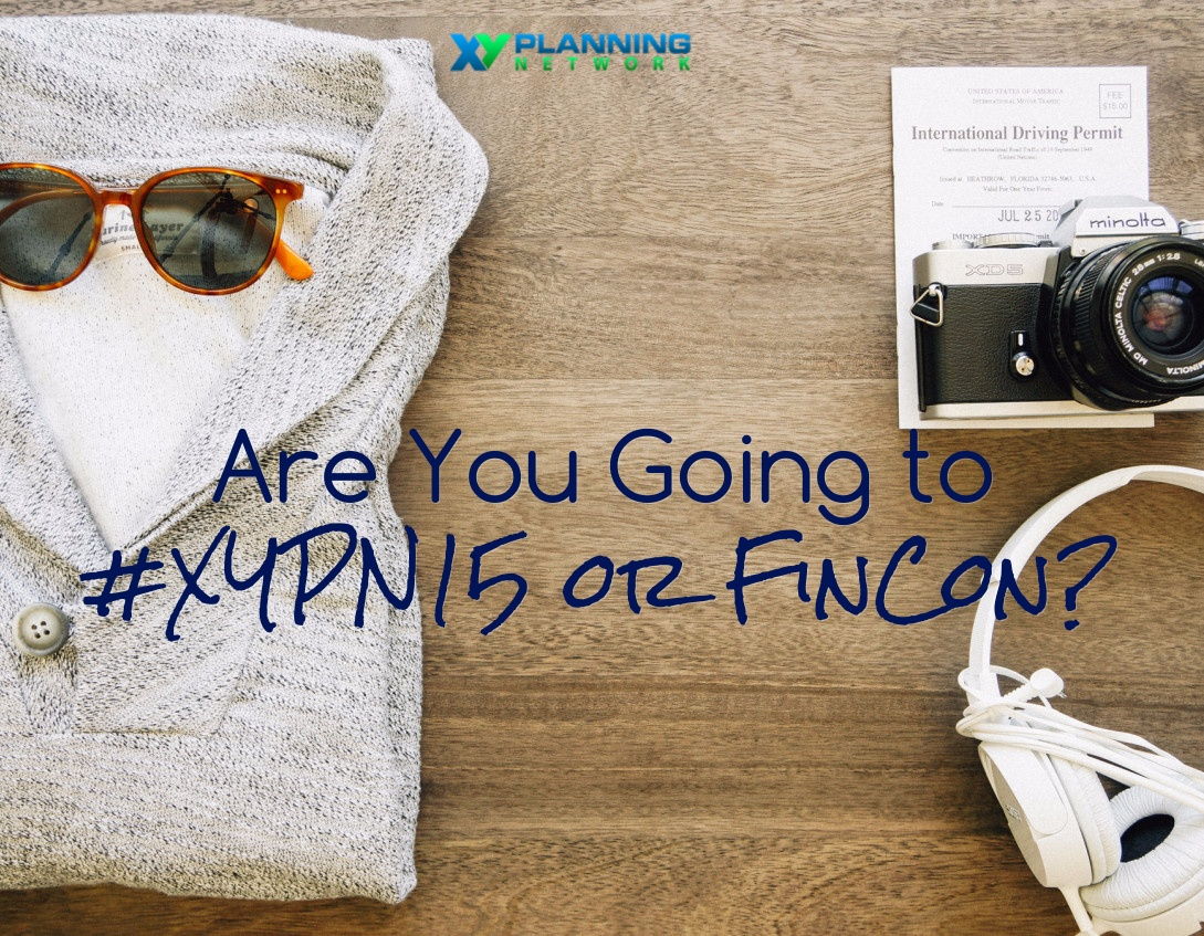 Conferences for Financial Advisors: #XYPN15 or FinCon Advisor Symposium?