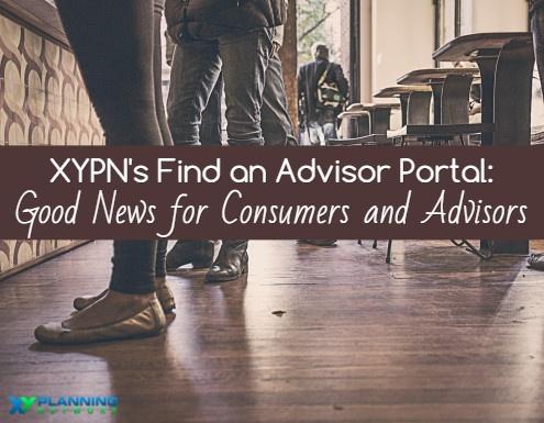Find an Advisor Portal
