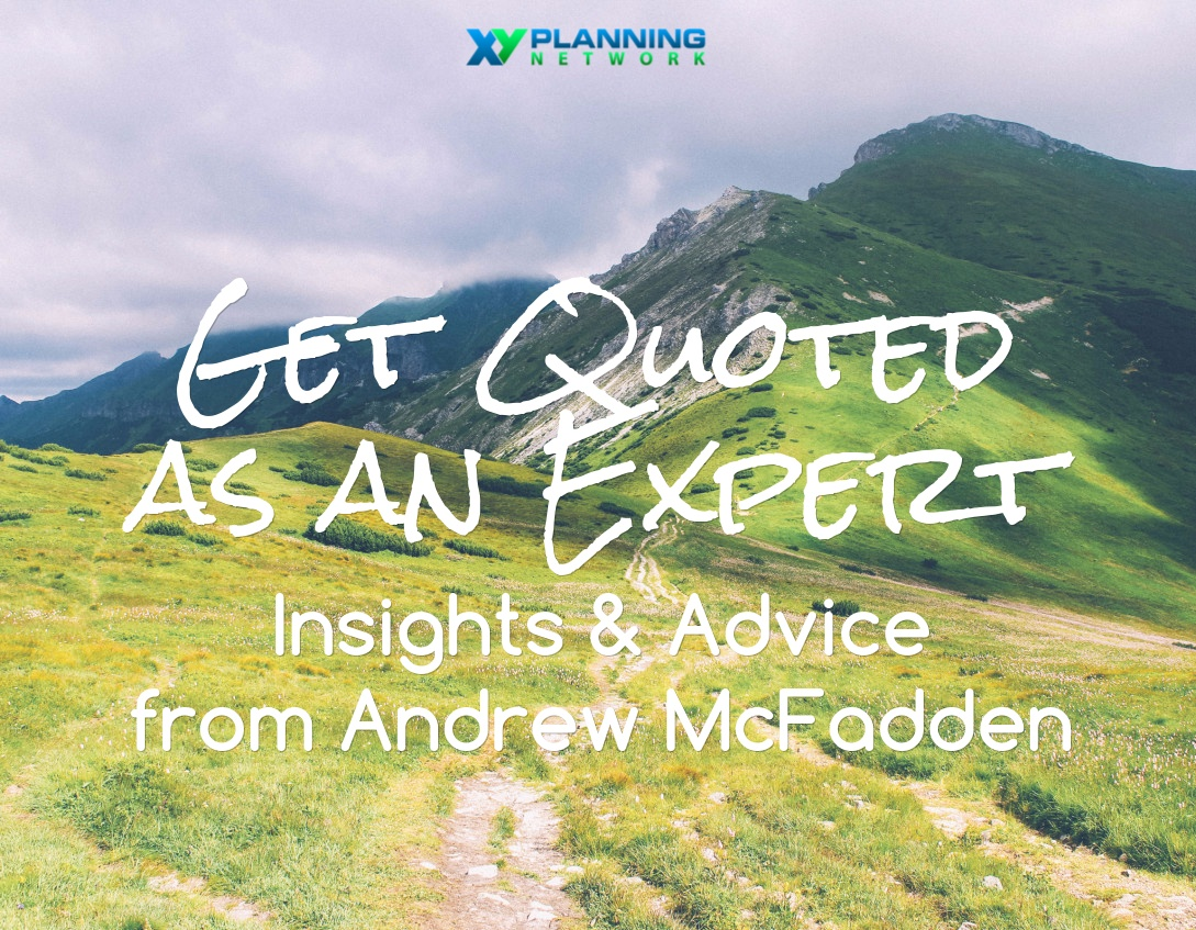 Getting Quoted in the Media: Insights and Advice from Andrew McFadden