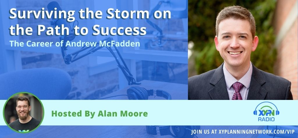 Surviving the Storm on the Way to Success- The Career of Andrew McFadden