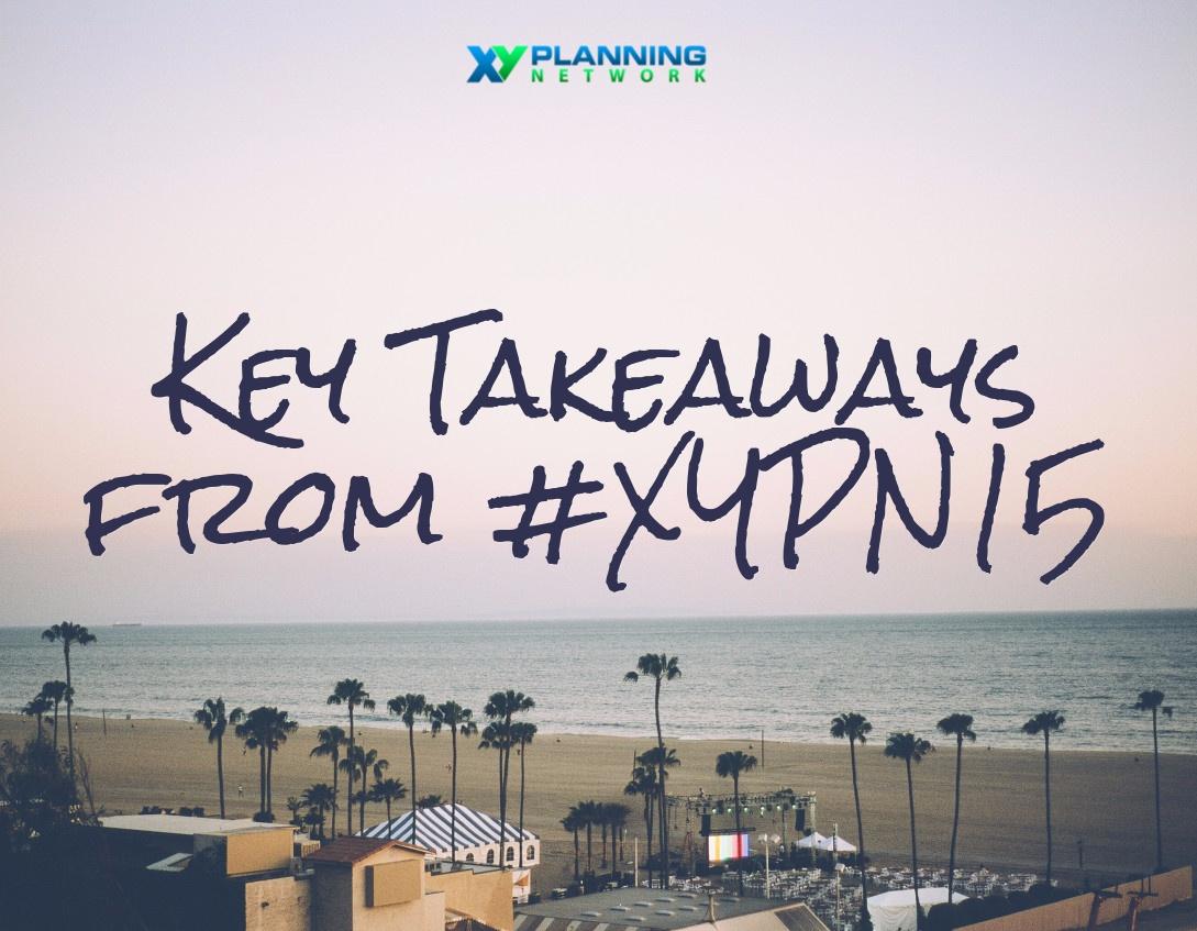 Takeaways from XYPN15 Brandon Marcott