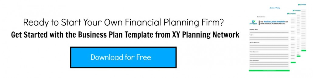 creating a business plan for your financial planning practice