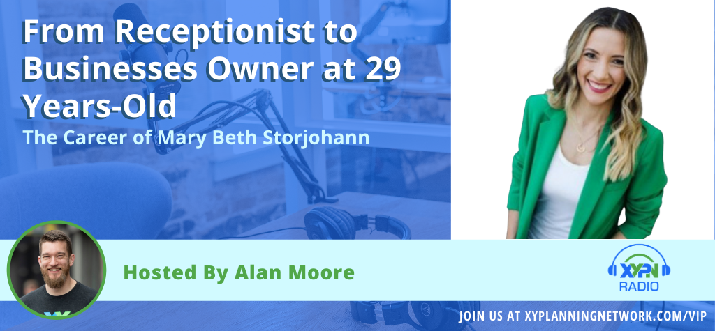 Ep #10: The Career of Mary Beth Storjohann - From Receptionist to Businesses Owner at 29 Years-Old