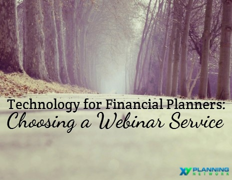 technology for financial planners