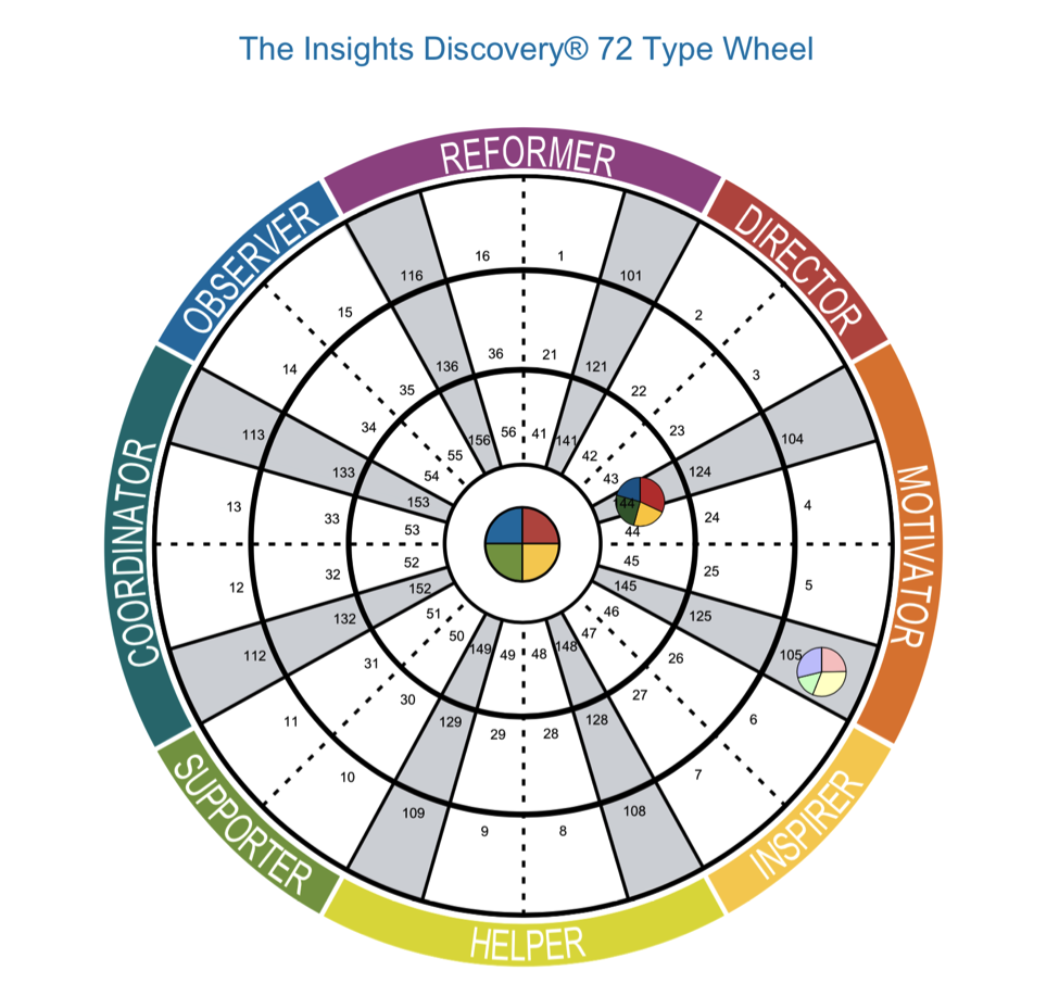 Insights Discovery Wheel