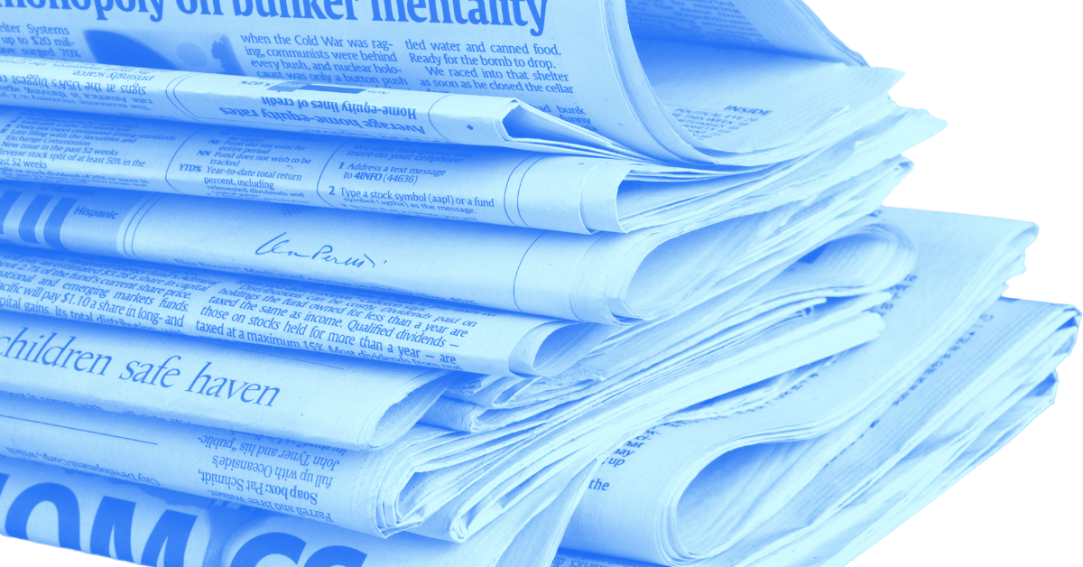 Good Financial Reads: The Market and the News