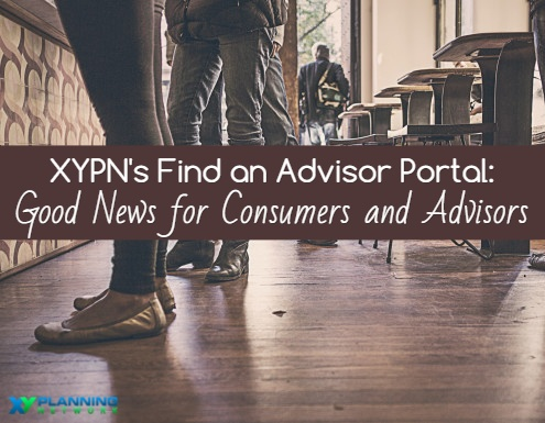 XY Planning Network's New Find an Advisor Portal: A Win for Consumers and Planners